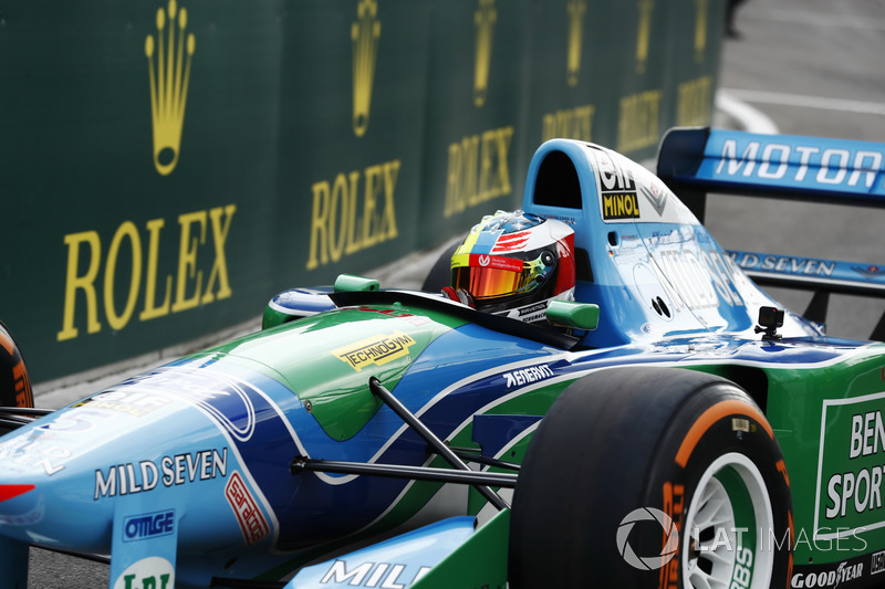 Mick Schumacher, Benetton Ford B194
