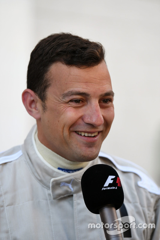 F1 Experiences 2-Seater passenger Will Buxton, NBC TV Presenter