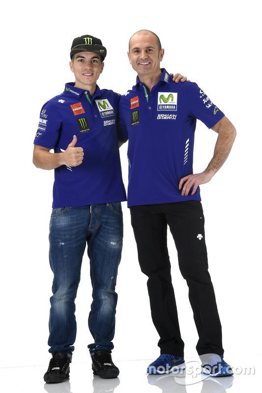Massimo Meregalli, director del equipo Yamaha Factory Racing, Maverick Viñales, Yamaha Factory Racing