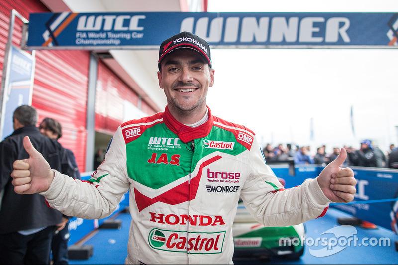 A győztes Norbert Michelisz, Honda Racing Team JAS