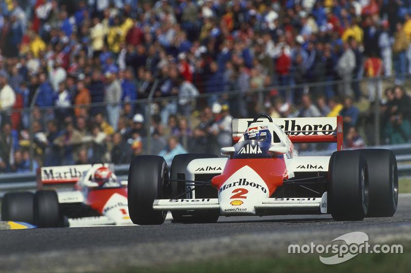 Алан Прост, Нікі Лауда, McLaren MP4/2B TAG Porsche