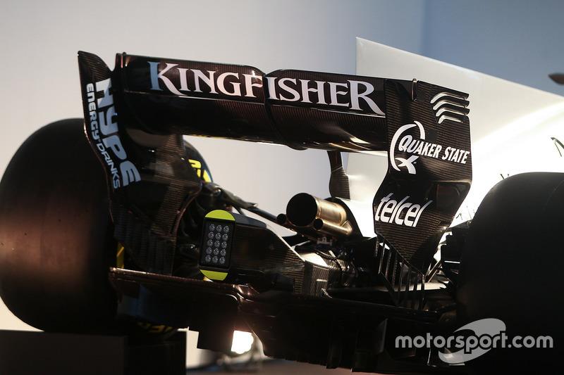 Force India F1 VJM10: Heckflügel