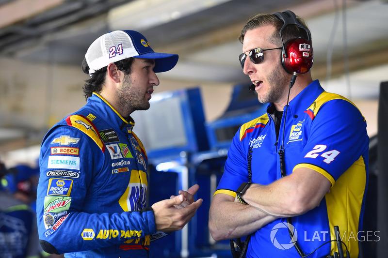 Chase Elliott, Hendrick Motorsports, Chevrolet; Alan Gustafson