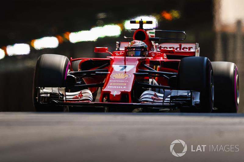 1. Kimi Räikkönen, Ferrari, SF70H
