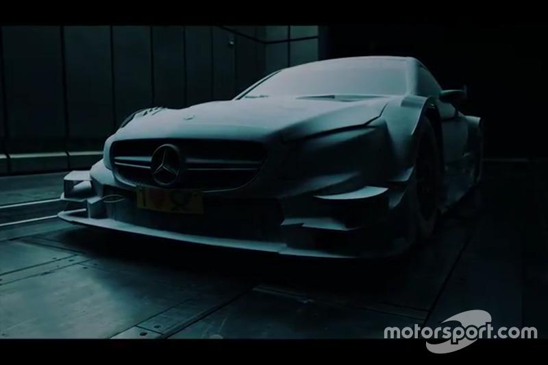 Mercedes AMG C63 DTM Teaser