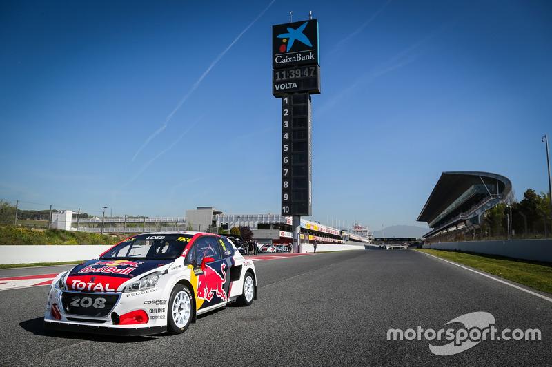 El coche de Sebastien Loeb, Team Peugeot-Hansen, Peugeot 208 WRX