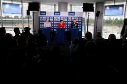 Ullrich Fritz, Mercedes-Teamchef; Dieter Gass, Audi-Sportchef; Jens Marquardt, BMW-Motorsportdirektor