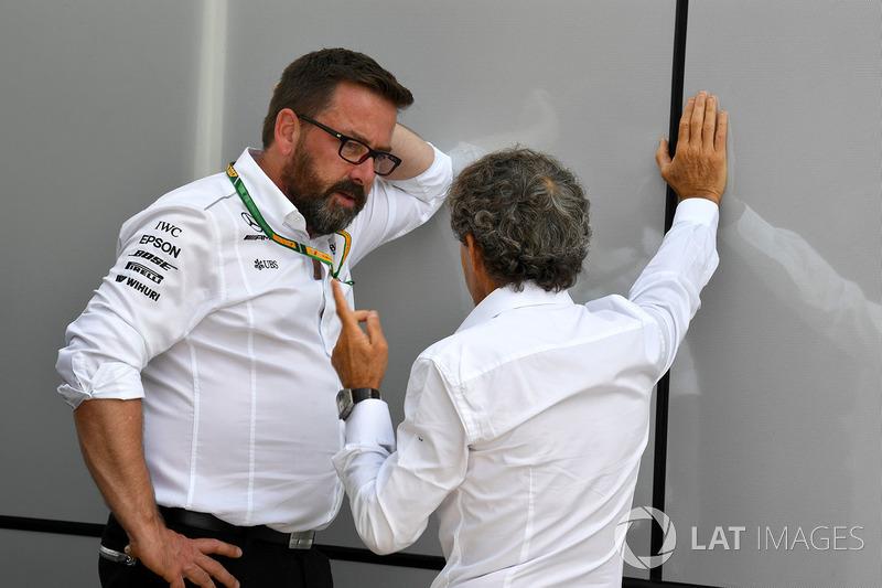 Алан Прост, спеціальний радник Renault Sport F1 Team