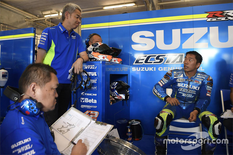 Сініті Сахара, керівник проекту Team Suzuki MotoGP