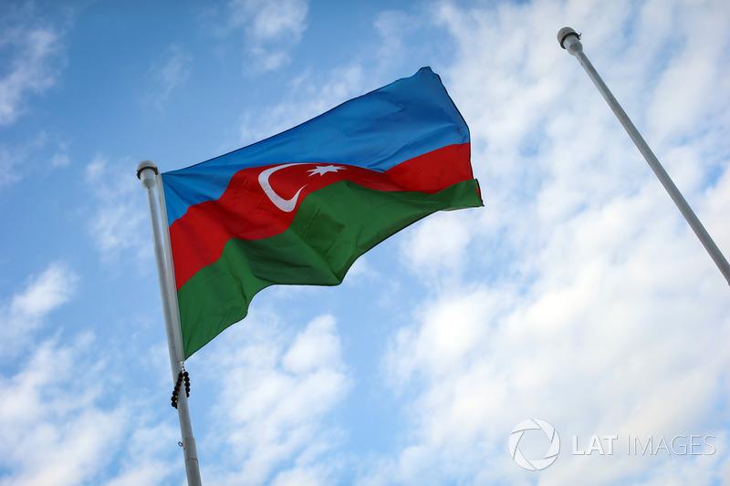 Azerbaijan Gp Red Flag
