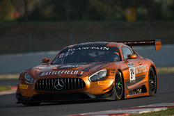 #84 AMG Team HTP Motorsport Mercedes AMG GT3: Franck Perera, Maximilian Bühk, Jimmy Eriksson