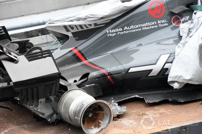 Розбитий болід Ромена Грожана, Haas F1 Team VF-17