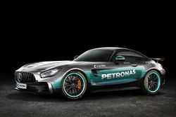 Mercedes AMG GT con livrea Mercedes AMG F1