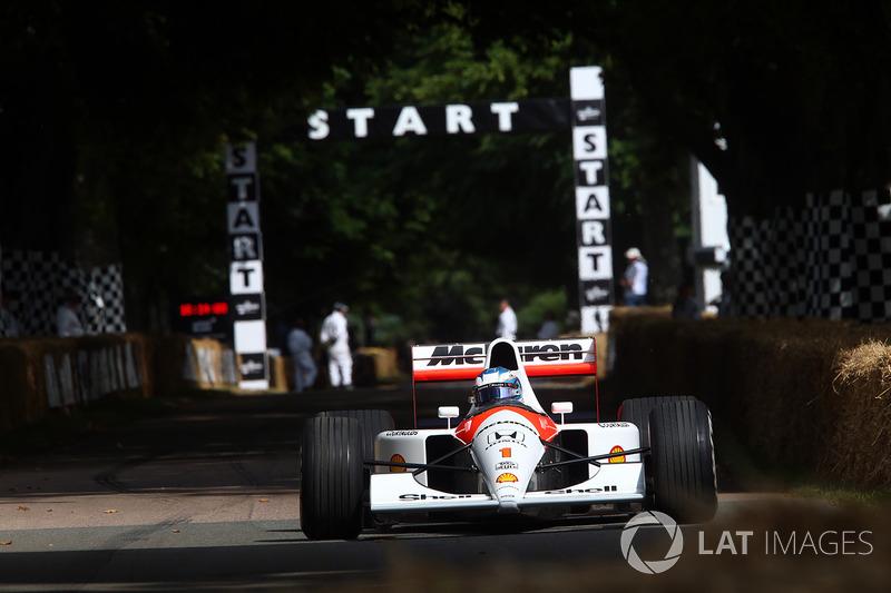 Nyck de Vries, pilote de développement McLaren