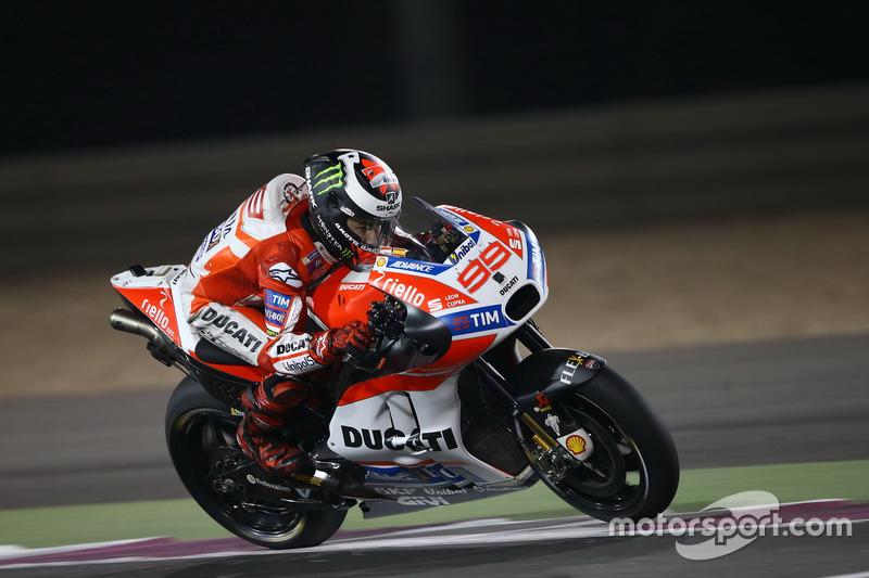 4. Jorge Lorenzo, Ducati Team, +0,189