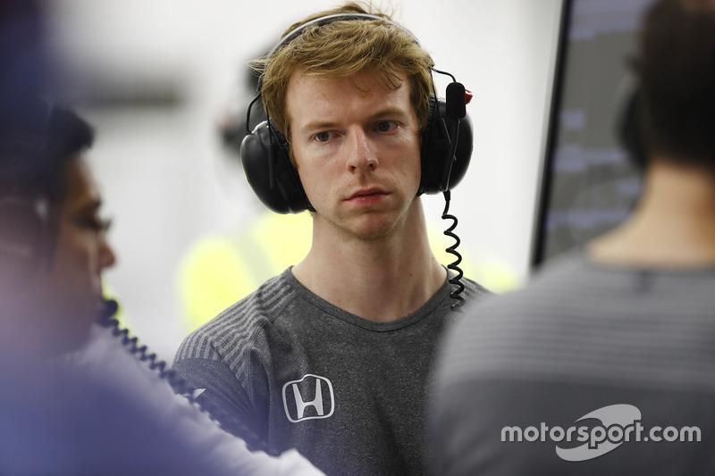 Oliver Turvey, McLaren test driver