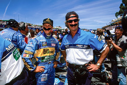Міхаель Шумахер (Benetton) і Флавіо Бріаторе