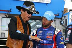Darrell Wallace Jr., Richard Petty Motorsports Ford, mit Richard Petty