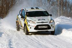 Михаил Миронов и Максим Романцев, Ford Fiesta