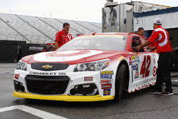 The car of Kyle Larson, Chip Ganassi Racing Chevrolet