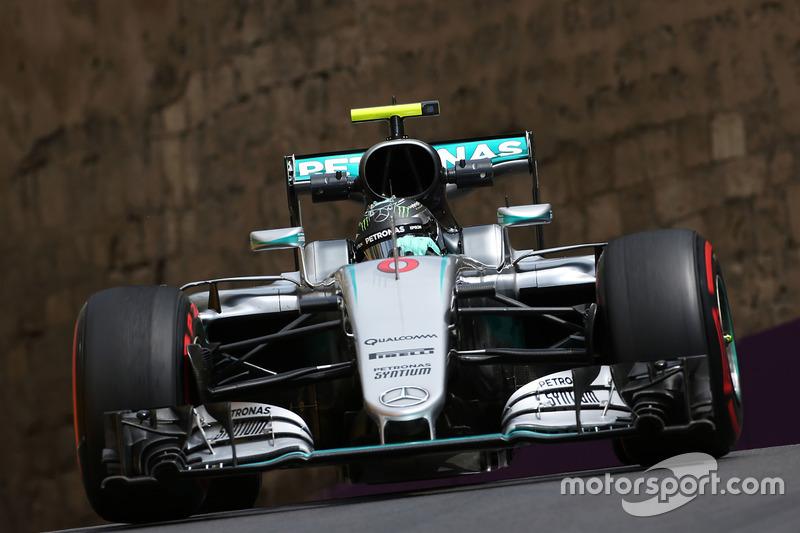 2016 - Baku: Nico Rosberg, Mercedes F1 W07 Hybrid