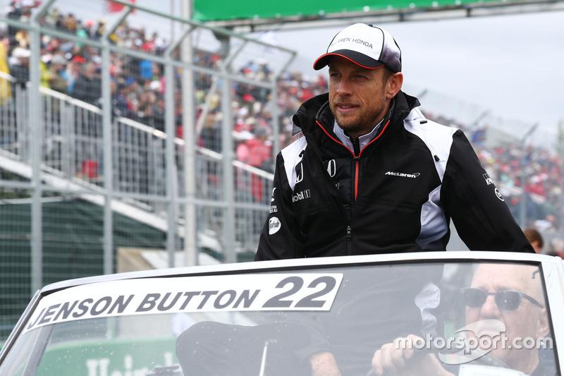 Дженсон Баттон, McLaren на параді пілотів