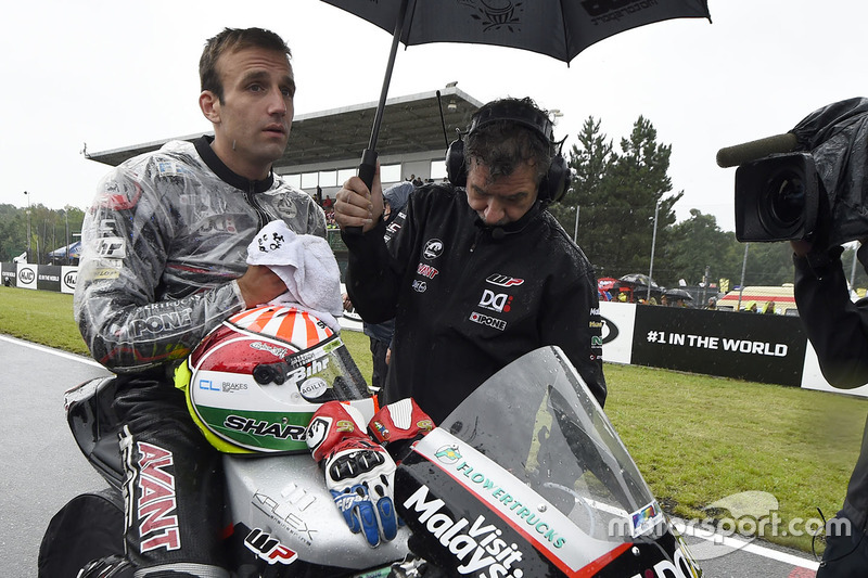 Johann Zarco, Ajo Motorsport, in griglia di partenza