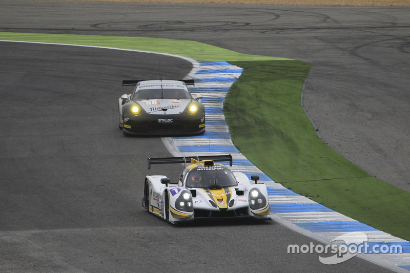 #15 RLR Msport, Ligier JSP3 - Nissan: Morten Dons, Anthony Wells, Alisdair McCaig