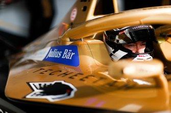 Andre Lotterer, DS TECHEETAH, DS E-Tense FE19 in the garage