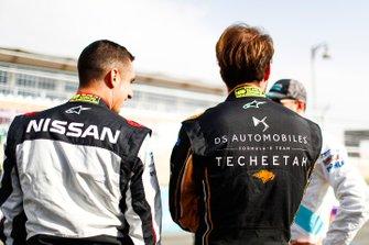 Sébastien Buemi, Nissan e.Dams, Jean-Eric Vergne, DS TECHEETAH