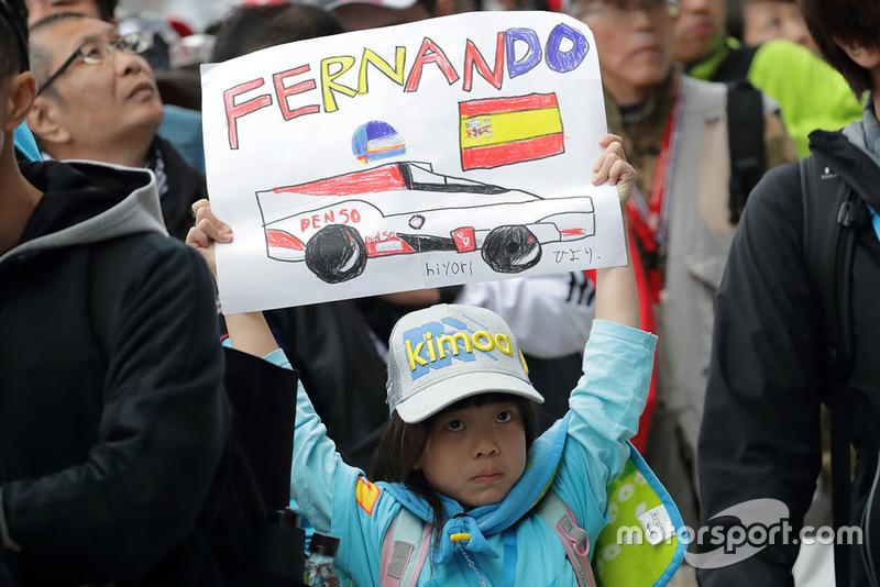 Un fan de Fernando Alonso, Toyota Gazoo Racing