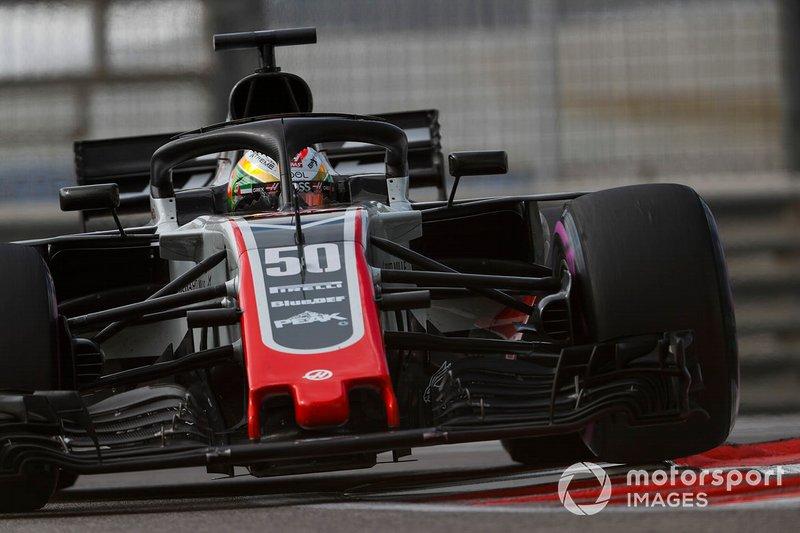Louis Deletraz, Haas F1 Team VF-18