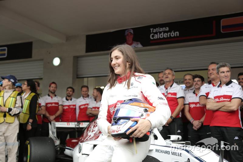 Tatiana Calderón, Sauber C37