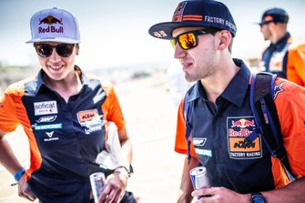 #17 Red Bull KTM Factory Racing KTM: Laia Sanz, #77 Red Bull KTM Factory Racing KTM: Luciano Benavides