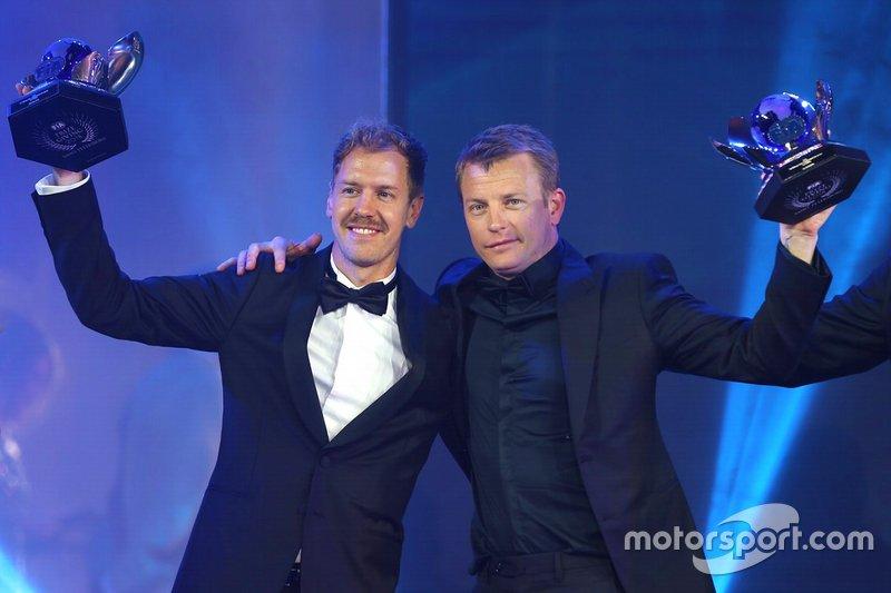 Sebastian Vettel y Kimi Räikkönen, Ferrari