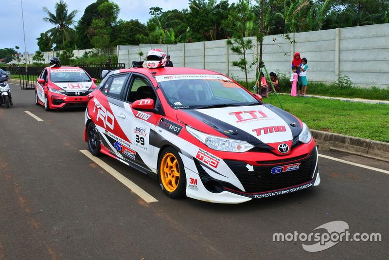All New Toyota Yaris, Haridarma Manoppo, Toyota Team Indonesia, ITCC 1600 Max