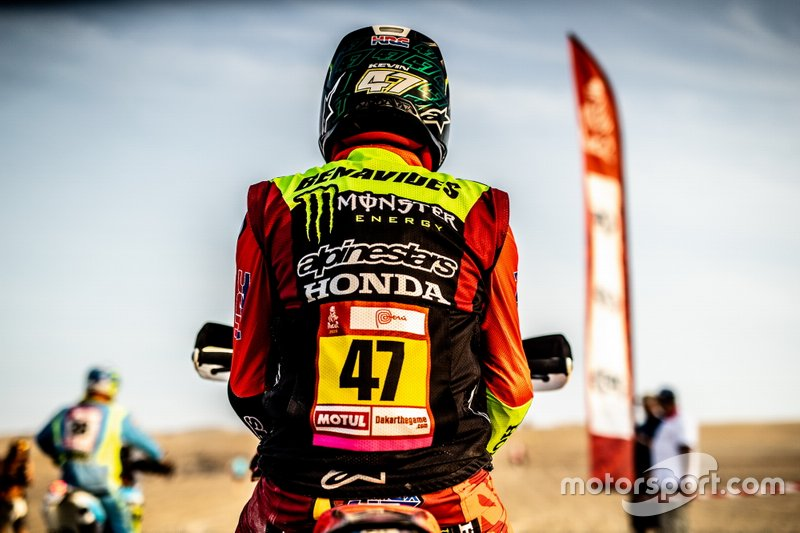 #47 Monster Energy Honda Team Honda: Kevin Benavides