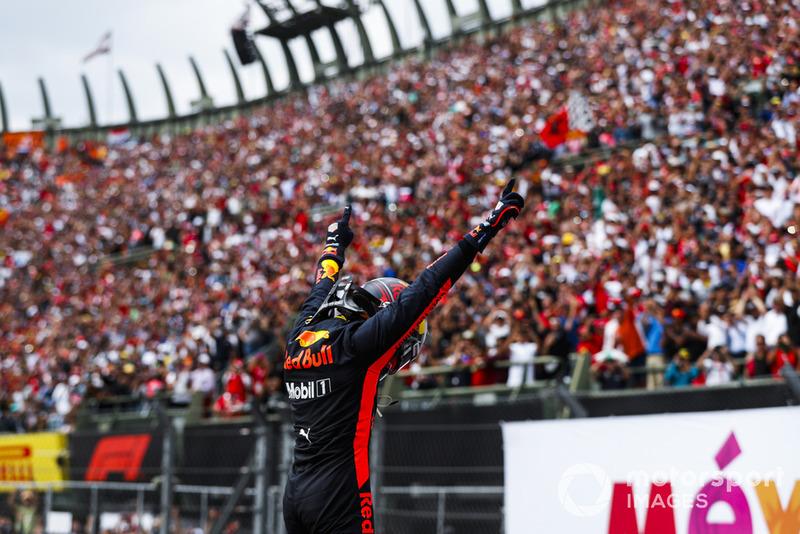 19. GP van Mexico: overwinning