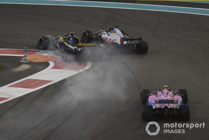 GP Abu Dhabi - Nico Hülkenberg/Romain Grosjean (balapan)