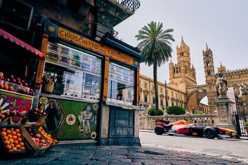 Verstappen Palermo visit