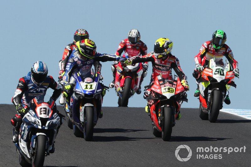 Sandro Cortese, GRT Yamaha WorldSBK, Alvaro Bautista, Aruba.it Racing-Ducati Team