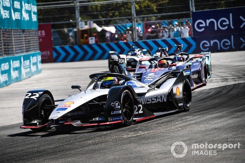 Oliver Rowland, Nissan e.Dams, Nissan IMO1, Robin Frijns, Envision Virgin Racing, Audi e-tron FE05, Mitch Evans, Jaguar Racing, Jaguar I-Type 3