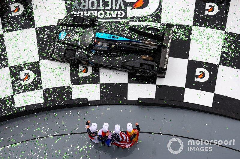 #10 Konica Minolta Cadillac DPi: Ренгер ван дер Занде, Джордан Тейлор, Фернандо Алонсо, Камуі Кобаясі