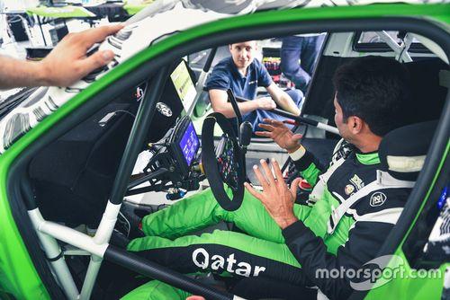 Prueba Al-Attiyah ES Motorsport