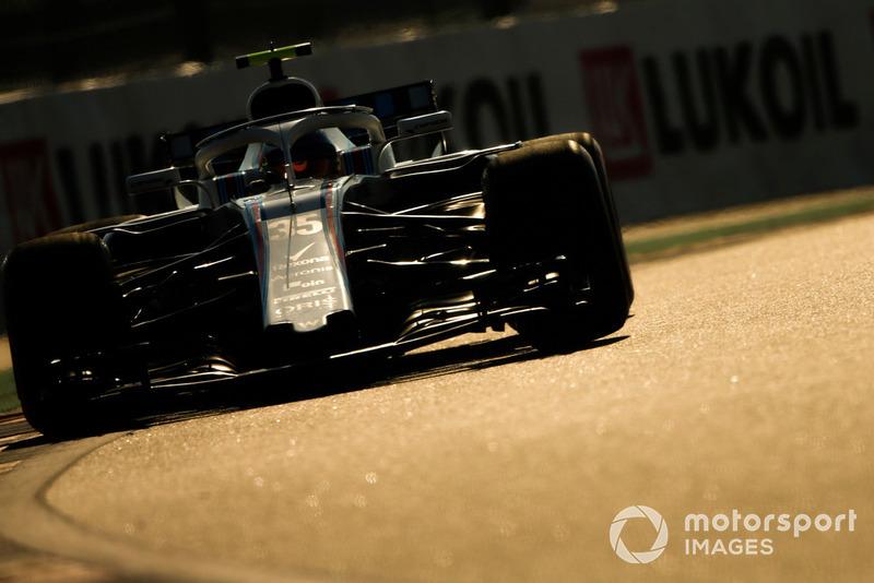 P18: Sergey Sirotkin, Williams FW41