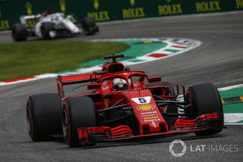 2 місце — Себастьян Феттель, Ferrari — 308