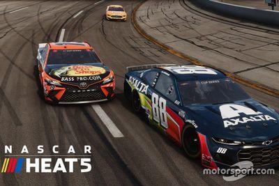 Выход компьютерной игры NASCAR Heat 5