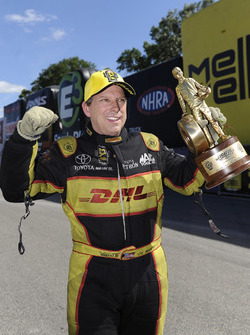 Funny Car winner Del Worsham