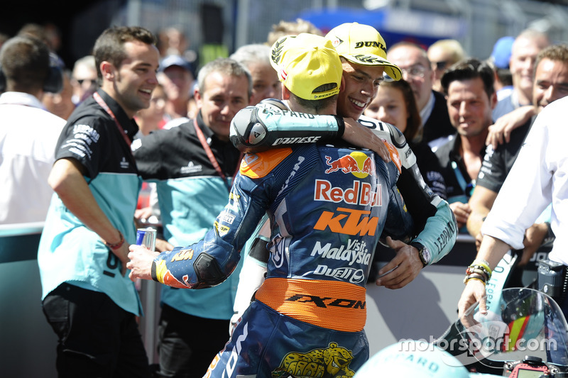 Joan Mir, Leopard Racing, KTM with Brad Binder, Red Bull KTM Ajo, KTM