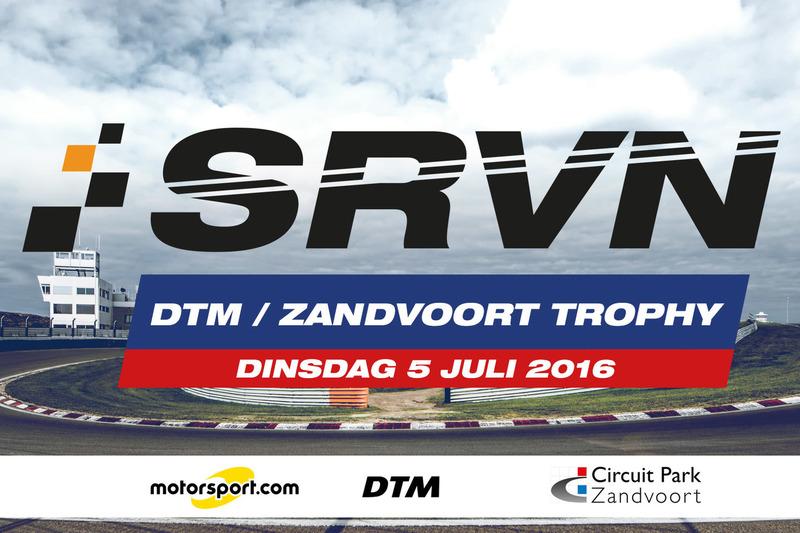 Aankondiging SRVN DTM Zandvoort Trophy powered by Motorsport.com